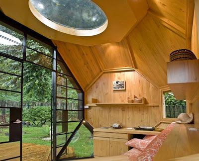 Fantástica casita de campo habitable.