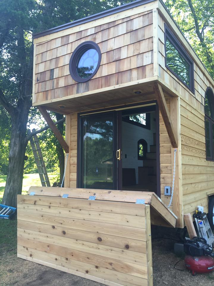 16 Tiny House Interior Design Ideas: TINY HOUSE TOWN: Old World Vermont Tiny Home (300 Sq Ft