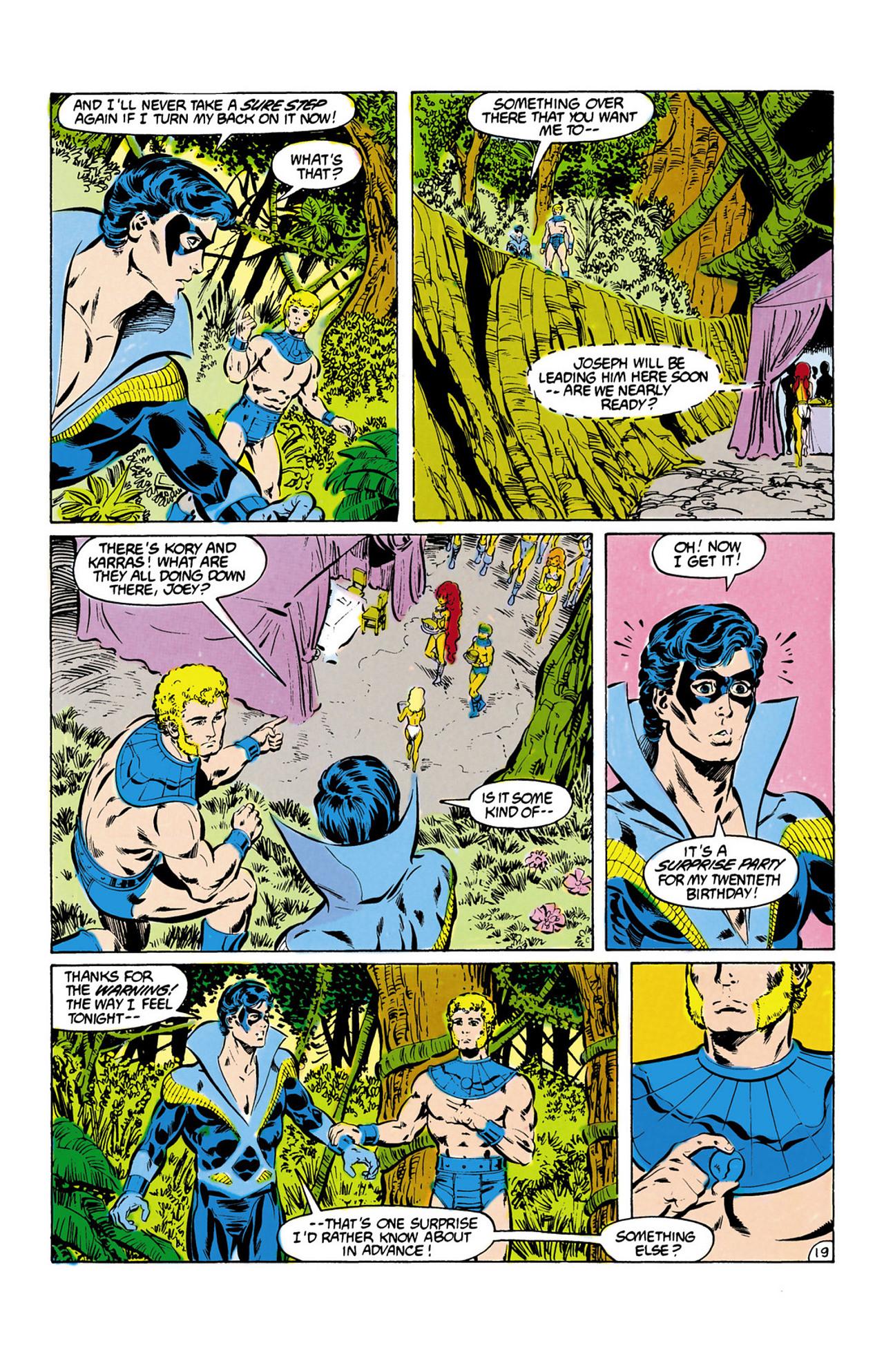 Read online Secret Origins (1986) comic -  Issue #13 - 20