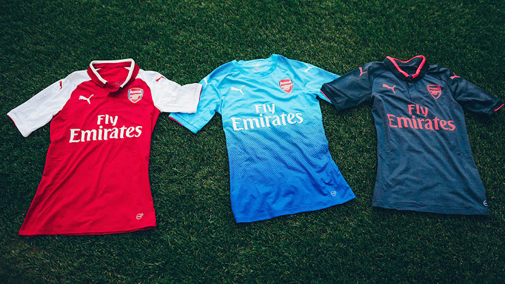 96d53e6b42d The new Arsenal FC 17-18 home