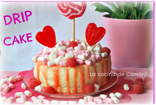 Drip Cake de chocolate blanco (La cocina de Camilni)