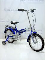 3 Sepeda Lipat Anak FAMILY TOURING 16 Inci