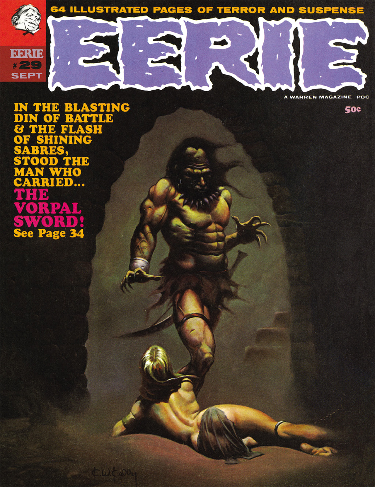 Read online Eerie Archives comic -  Issue # TPB 6 - 70