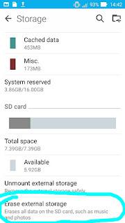 Cara Memperbaiki Memori SD Card yang Tidak Terbaca