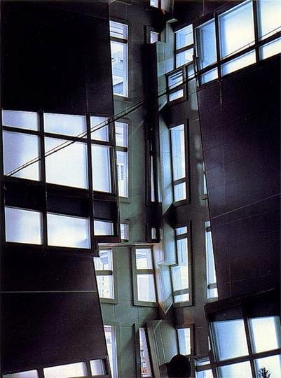 Edificio Nunotani en Tokio   Peter Eisenman   Inestabilidad tectónica