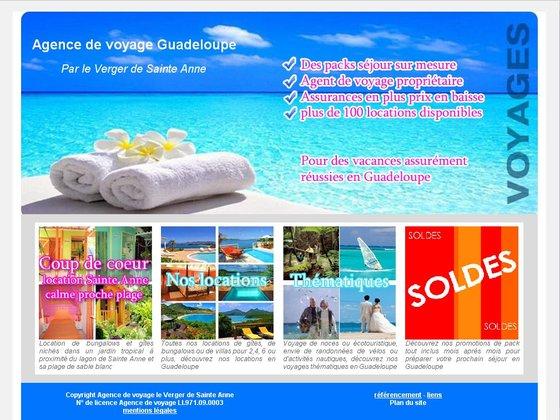 Les agences de voyage en Guadeloupe, adresse, mail, téléphone