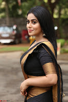 Poorna in Cute Backless Choli Saree Stunning Beauty at Avantika Movie platinum Disc Function ~  Exclusive 061.JPG