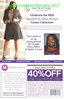 free Ashley Stewart coupons february 2017