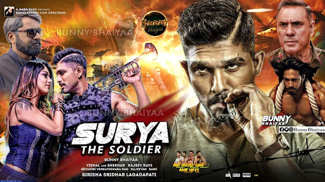 Surya The Soldier (Naa Peru Surya) 2018 – Uncut Hindi / Telugu Dual Audio 720p HDRip 700MB Download