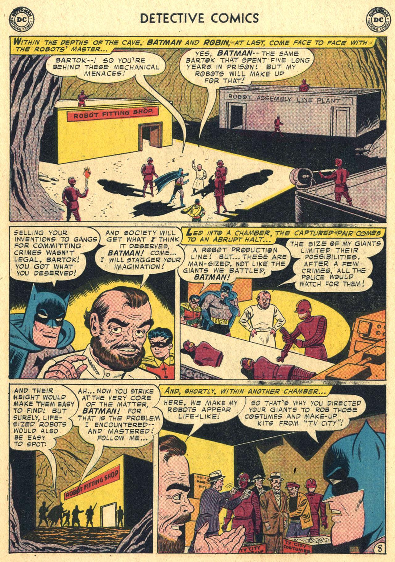Read online Detective Comics (1937) comic -  Issue #258 - 10