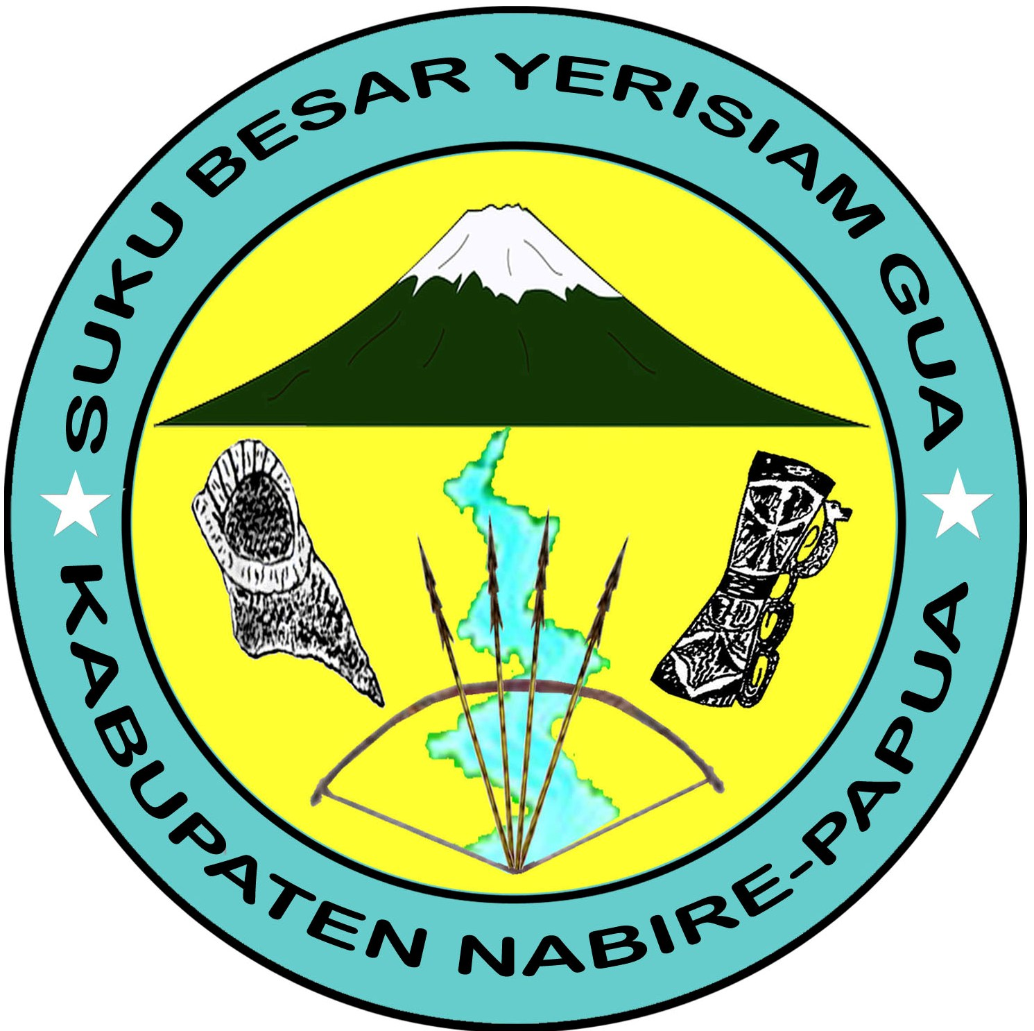 Papales Mengabarkan Profil Suku Besar Yerisiam Gua Kampung Sima Distrik Yaur Kabupaten Nabire Provinsi Papua