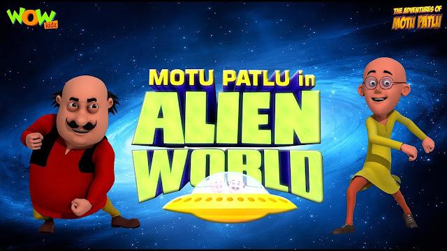 Motu Patlu in Alien World
