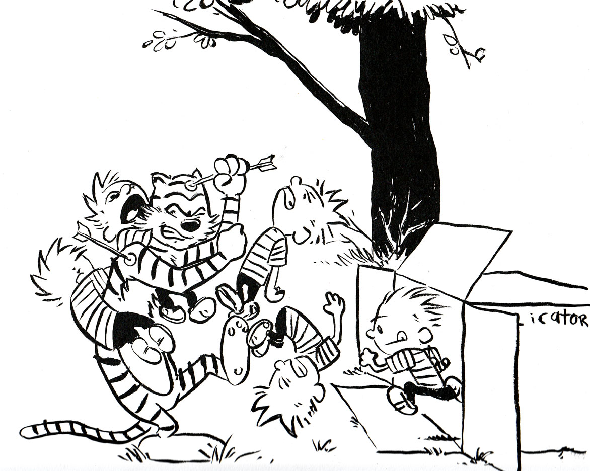 calvin and hobbes coloring pages Free Calvin And Hobbes Coloring Pages | Coloring Pages calvin and hobbes coloring pages