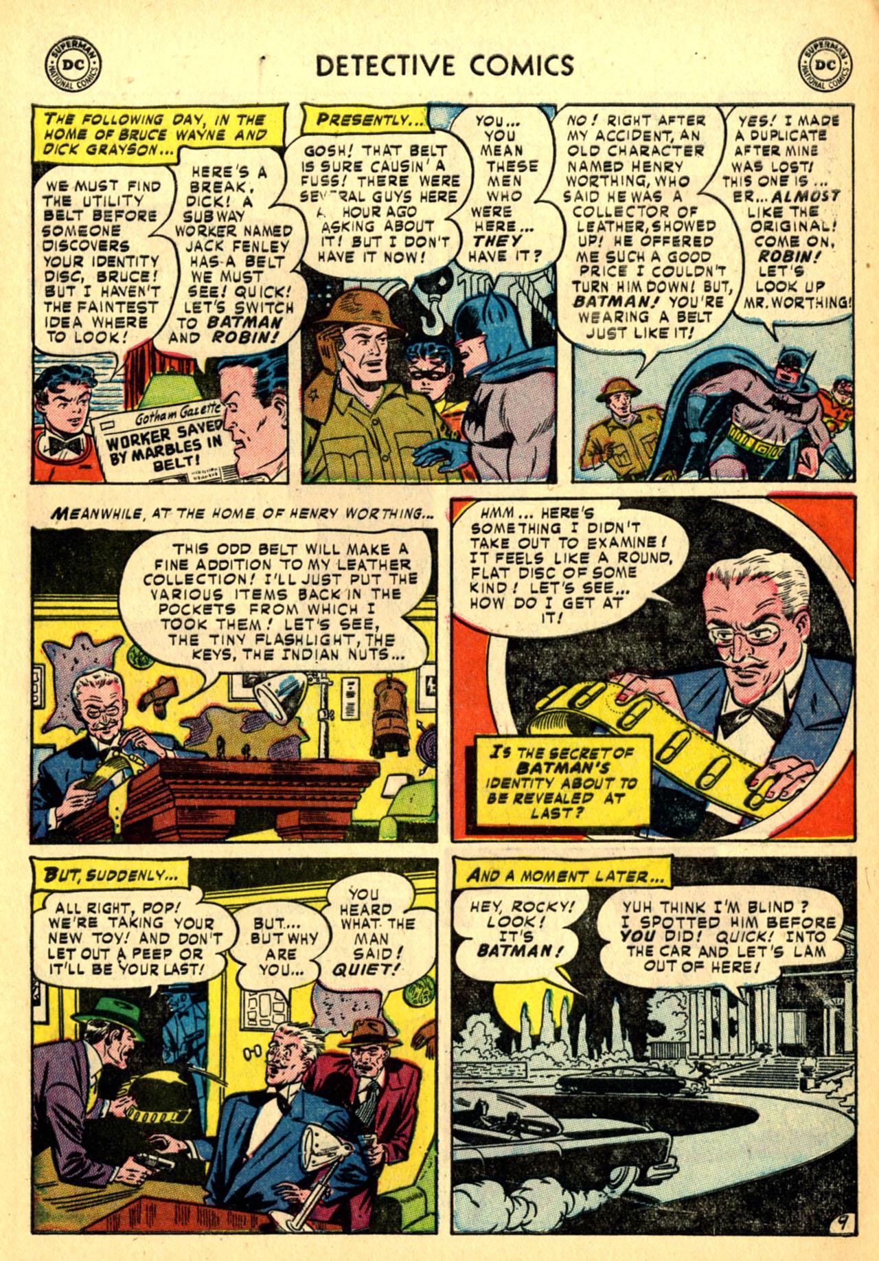 Detective Comics (1937) 185 Page 10
