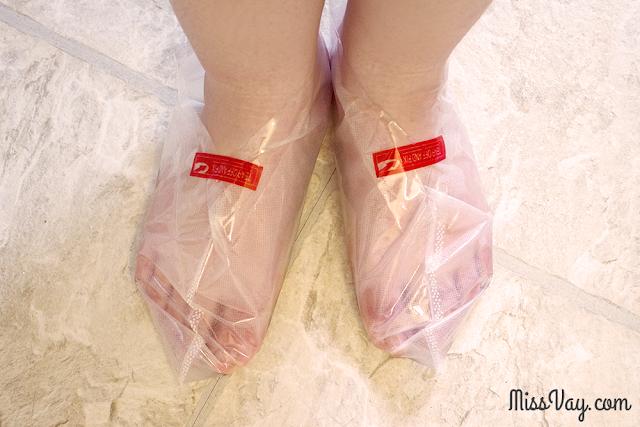 Peeling pour les pieds - Butterfly