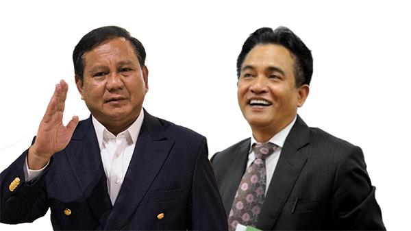 PBB Dorong Yusril Untuk Dampingi Prabowo