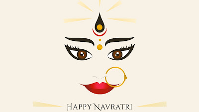Happy Navratri Desktop HD Image