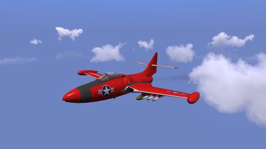 Arma3用Grumman F9F Panthee戦闘機MOD