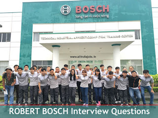 Robert Bosch Interview Questions