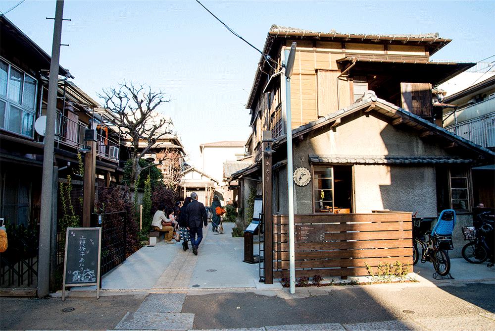 上野桜木あたり外観