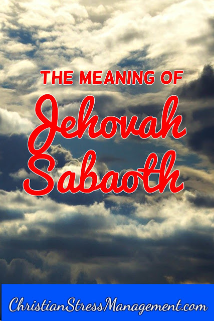 The Meaning of Jehovah Sabaoth