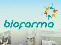 PT Bio Farma (Persero) - Recruitment For D3, S1 Junior Staff, Staff Bio Farma April 2018