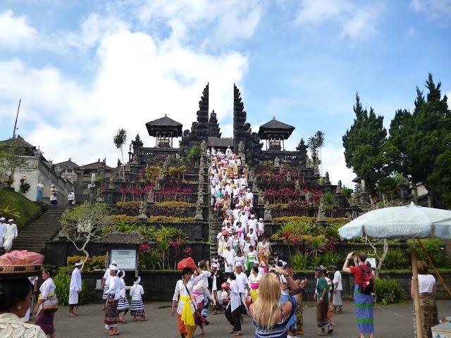 Ceremonie Temple Besakih