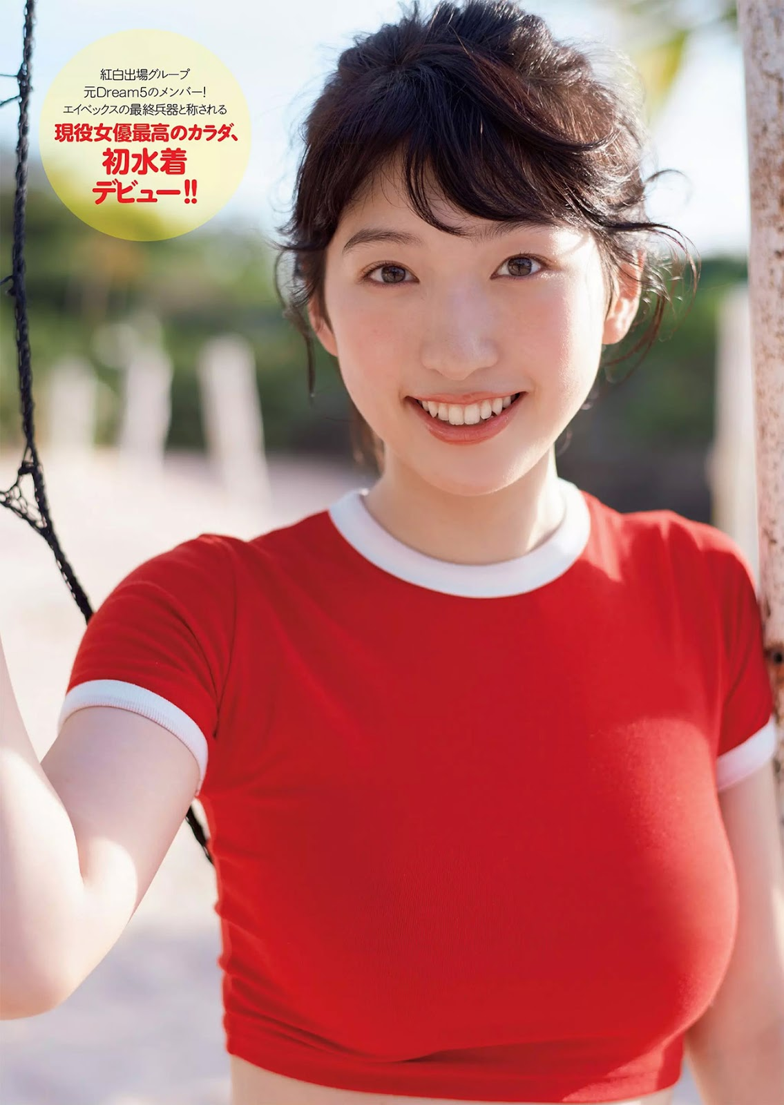 Mikoto Hibi 日比美思, Weekly Playboy 2017 No.51 (週刊プレイボーイ 2017年51号)