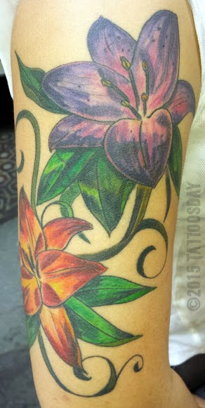 Tattoosday A Tattoo Blog June Flowers In May