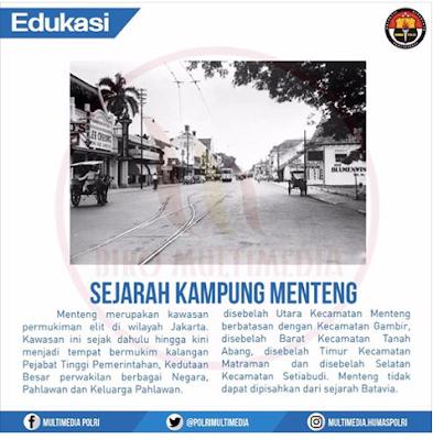 Sejarah Kampung Menteng