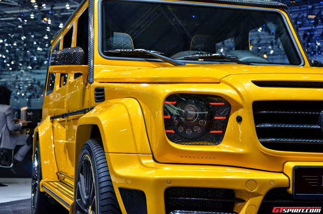 mercedes g mansory gronos headlights