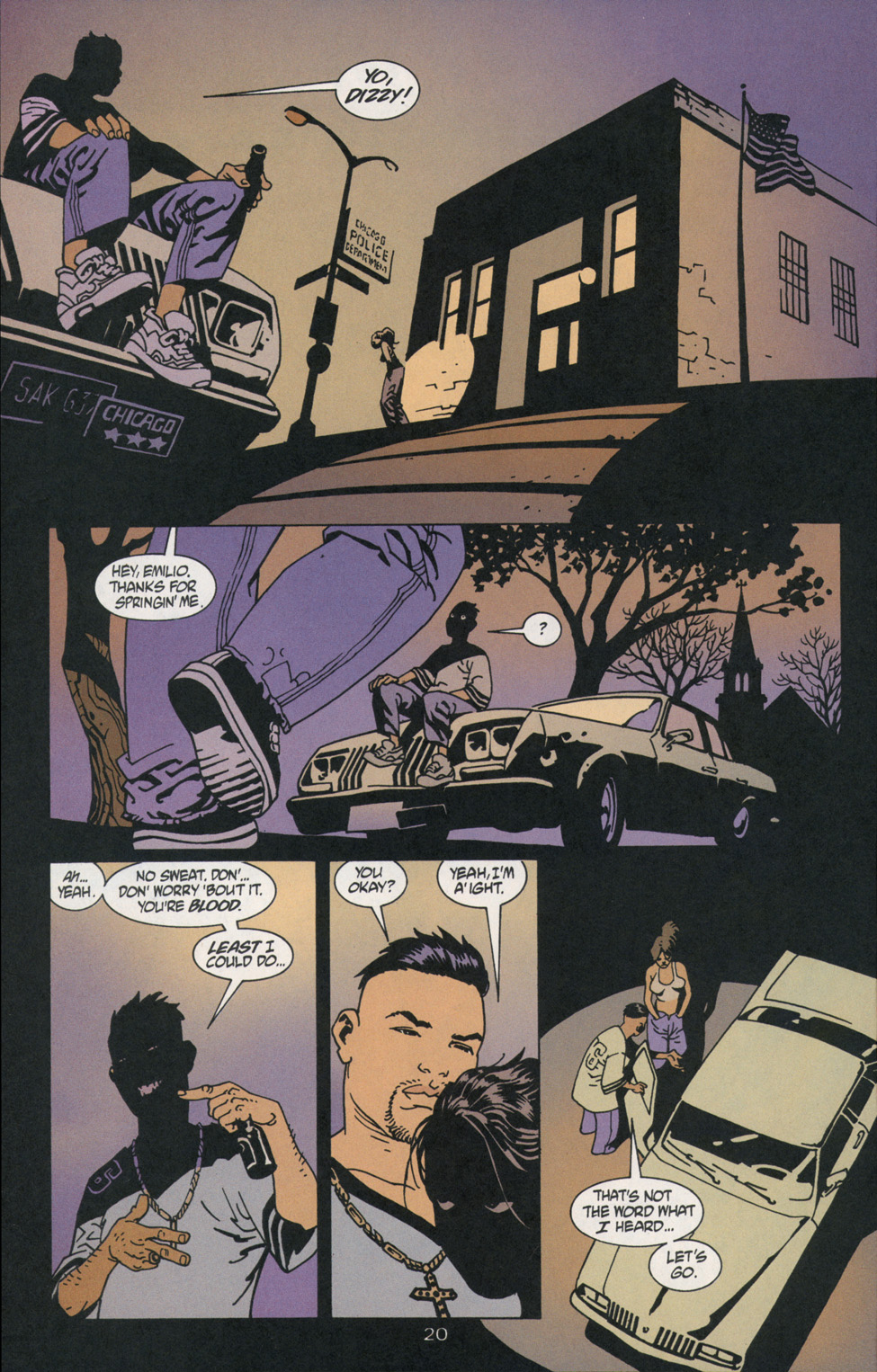 Read online 100 Bullets comic -  Issue #2 - 20