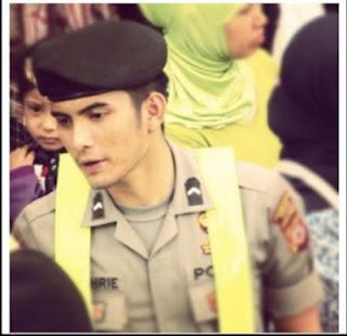 Foto Polteng Polisi Ganteng Bripda Saiful Bahri
