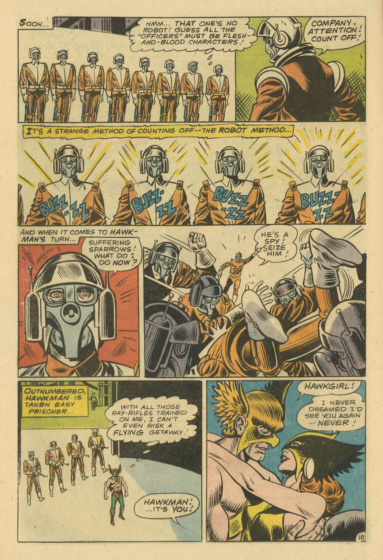 Hawkman (1964) issue 24 - Page 12