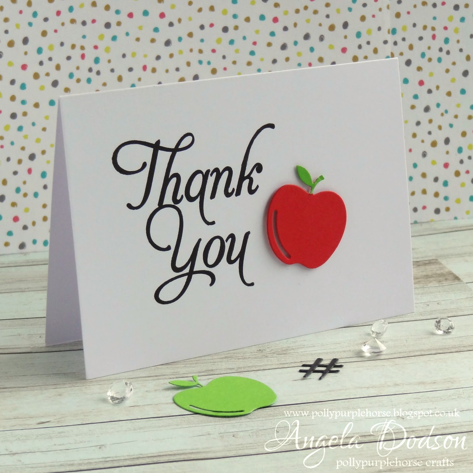 Pollypurplehorse is crafty: DIY Thank You Cards - Perfect ...
