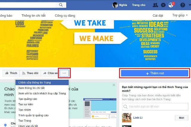 tạo fanpage facebook 4