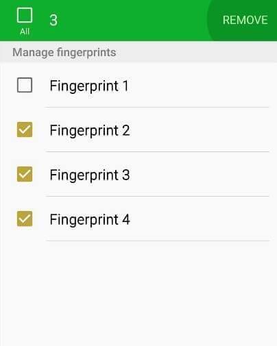 increase fingerprint sensor speed