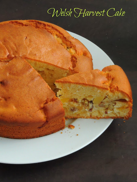 Welsh Harvest Cake,HArvest Cake
