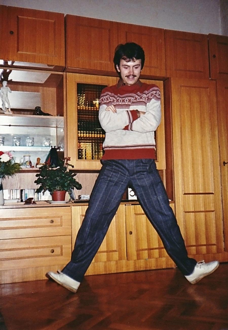 Russian folk dancing
