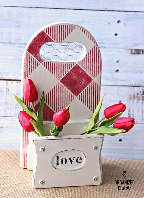 Buffalo Check Your Valentine's Day Decor