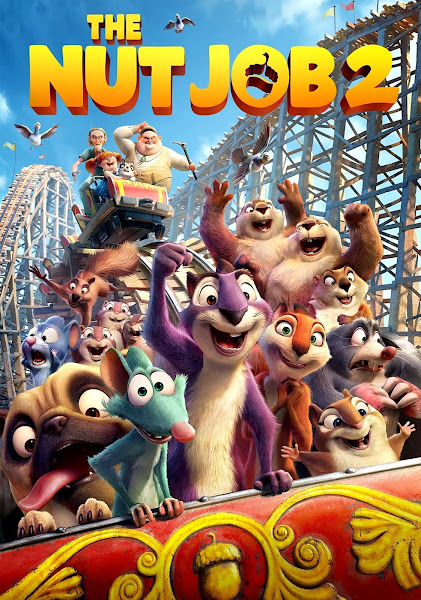 Poster of The Nut Job 2: Nutty by Nature (2017) Dual Audio [Hindi-English] 720p BluRay ESubs Download