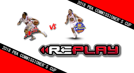 Video Playlist: Alaska vs TNT game replay May 13, 2018 PBA Commissioner's Cup