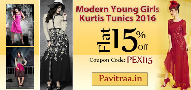 Indo Western UK US Australia Canada style fancy new style ladies girls kurtis tunic 2016 online shopping with discount sale in lowest prices Surat India