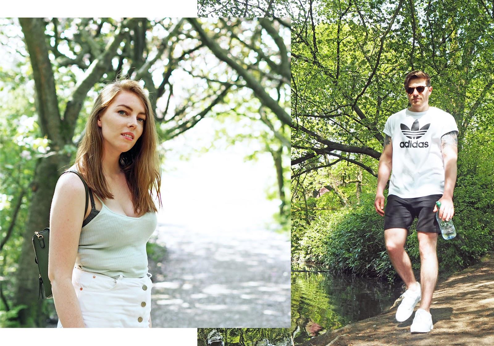 Adidas retro t-shirt