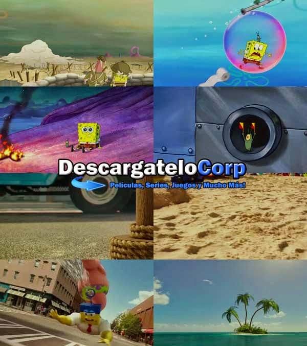Descargar Bob Esponja Un Heroe Fuera Del Agua DVDRip Latino