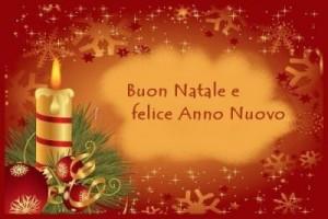 Auguri di Natale e Felice Anno Nuovo