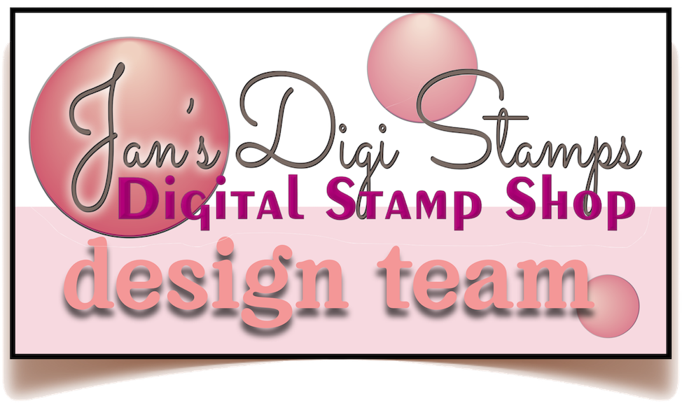 Designing For Jan's Digi Stamps