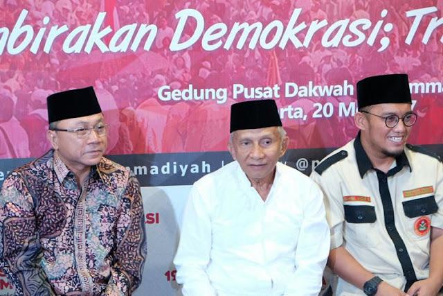 Amien Rais Keluarkan 9 Kritik Buat Presiden Jokowi yang Dianggapnya Telah Melenceng