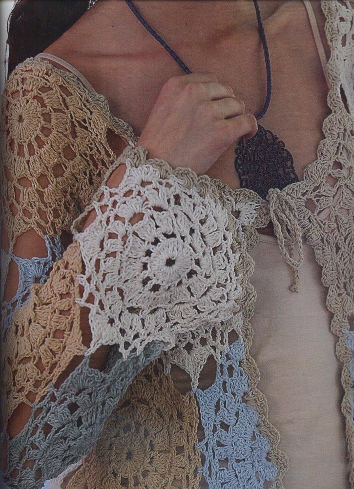 Saco Chaqueta de Crochet Patron