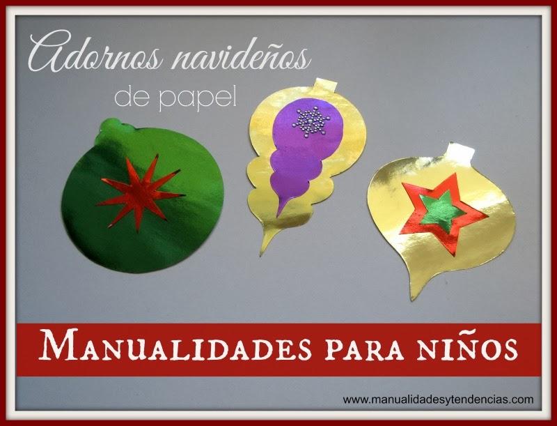 Adornos de Navidad para niños / Kids crafts: Christmas ornaments / Décorations de Noël pour enfants